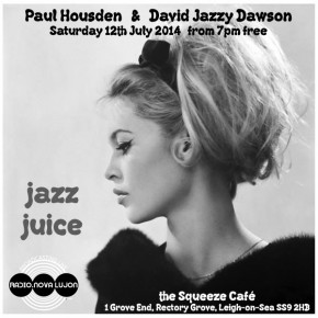 12.07.14 Jazz Juice @ the Squeeze Café
