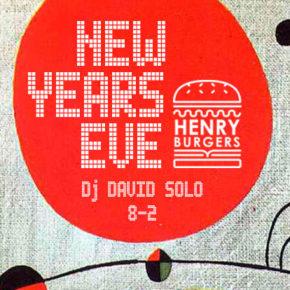 31.12.18 NYE @ Henry Burgers
